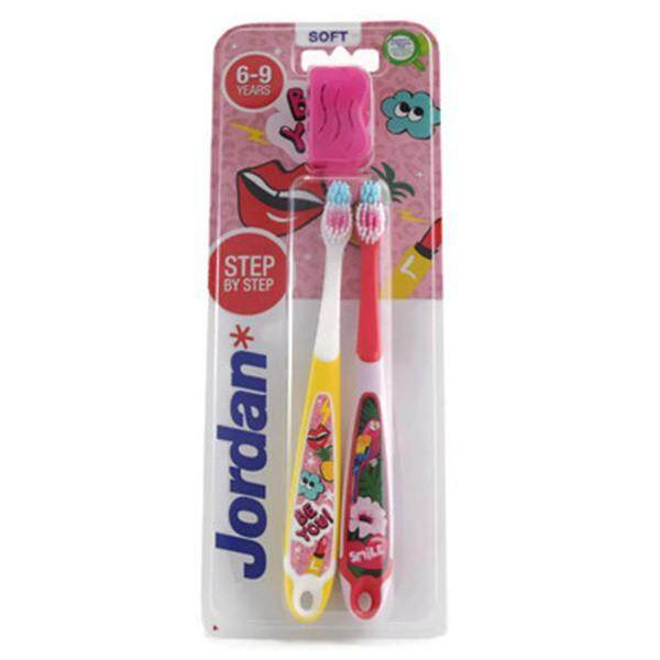 Jordan Step 3 (6-9 Years) Soft Toothbrush 2's (Random Colours)
