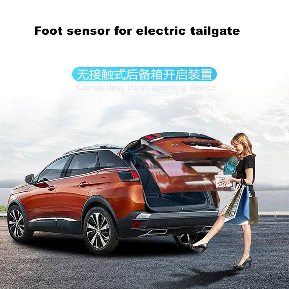 Duokon Car Foot Sensor,Universal Tailgate Release Opener Kick Activated Electric Tailgate Trunk Release Opener Hands-Free Controlled