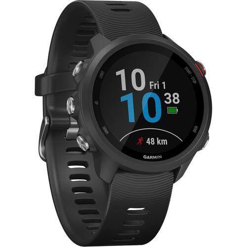สอนใช้งาน  สุพรรณบุรี Garmin Forerunner 245 Music GPS Running Smartwatch - [Black]