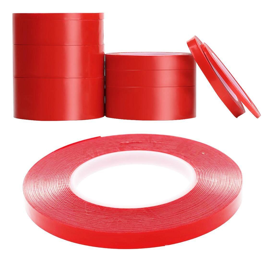 ... 2 Film Merah Crystal Double-Tape Tahan Panas Mobil Tanpa Jejak - 3 ...