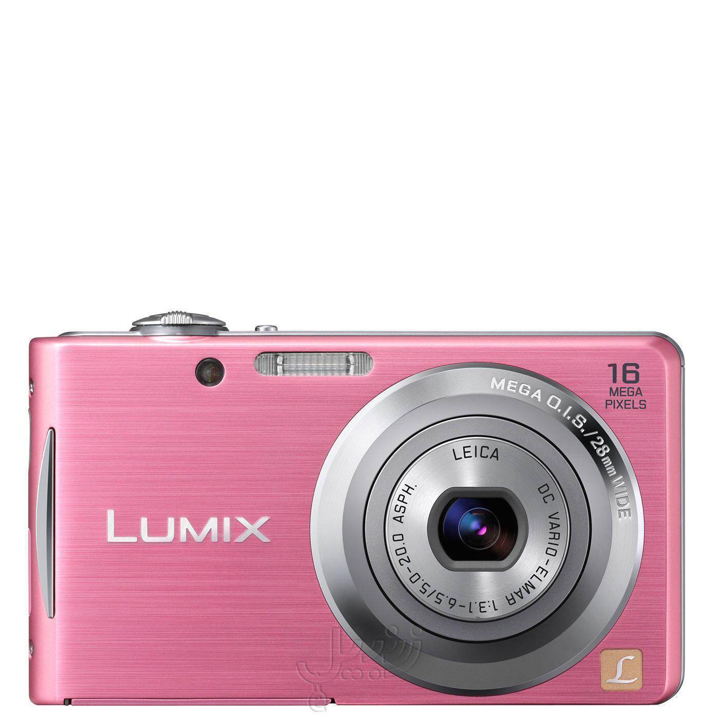 Panasonic Lumix DMC-FH5 16.1MP Point and Shoot Digital Camera (Pink) with 4x Optical Zoom