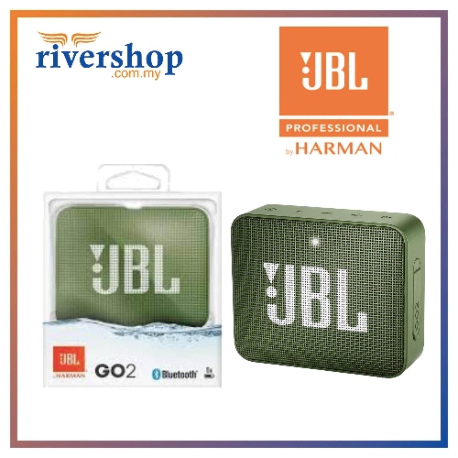 Original JBL Go 2 Rechargeable Portable Wireless Bluetooth Speaker 1 year warranty