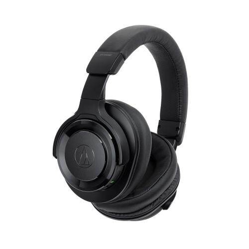 Audio Technica ATH-WS990BT Solid Bass Bluetooth 4.1 Wireless Over-Ear Headphones 53mm Drivers with Built-on Control and Mic