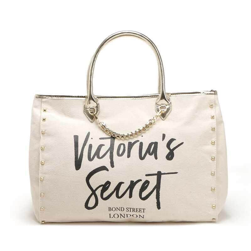 VS Angel City Gold Chain Tote Bag