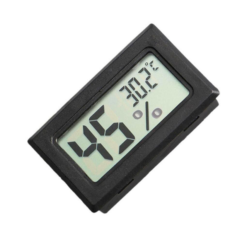 5 Pcs Mini LCD Digital Suhu dan Pengukur Kelembapan Peliharaan Reptil Kawat Kurang Thermometer Hygrometer ...