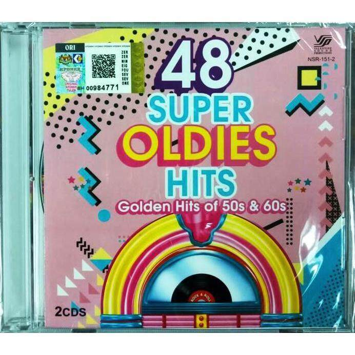 48 Super Oldies Hits 50s & 60s 2CD Brothers Four Louis Armstrong Glenn Campbell Bobby Vee