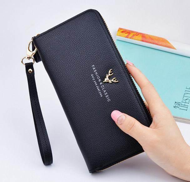 Woman Long Purse Wallet Clutch Bag Big Capacity Leather Premium Quality