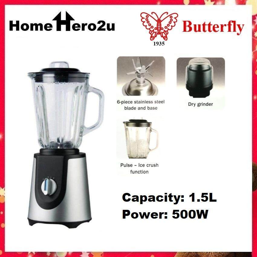 Butterfly B-530 Blender with Glass Jug 500W - Homehero2u
