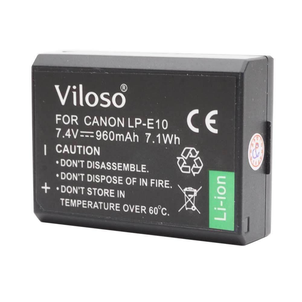 LP-E10 Battery for Canon EOS 1300D 1200D 1100D 10D camera (Proocam viloso)