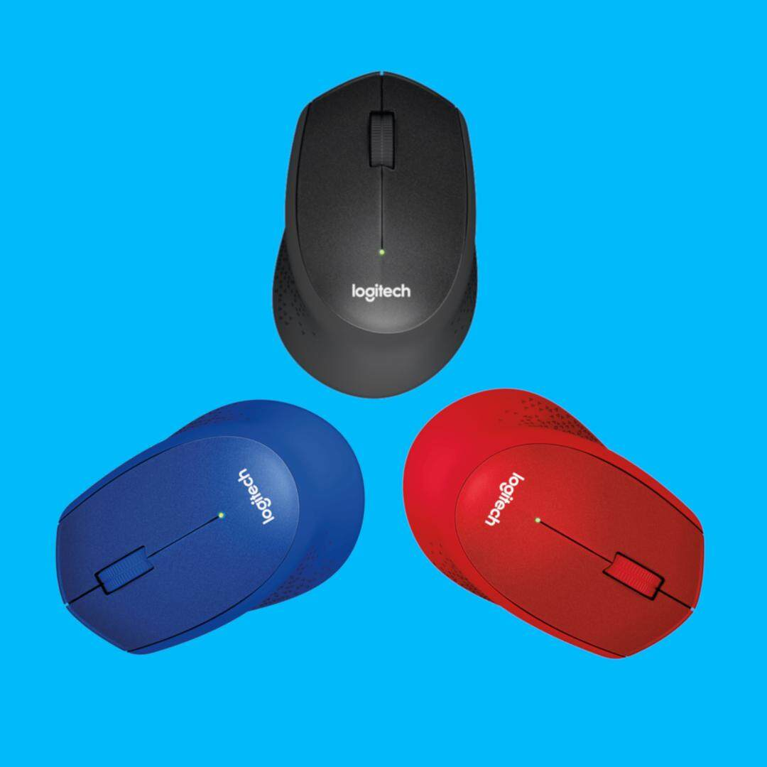 Logitech M331 Silent Plus Wireless Mouse 1000DPI for Right Handed (Size: 105.4 x 67.9 x 38.4 mm)