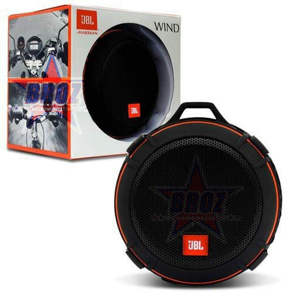 JBL Wind Bike Portable Bluetooth Speaker with FM Radio and Supports A Micro SD Card