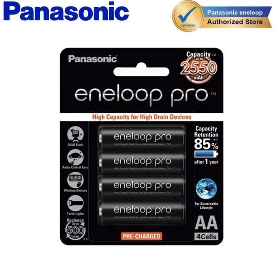 Panasonic Eneloop Pro AA Rechargeable 4x AA 2550Mah Battery (ORIGINAL)