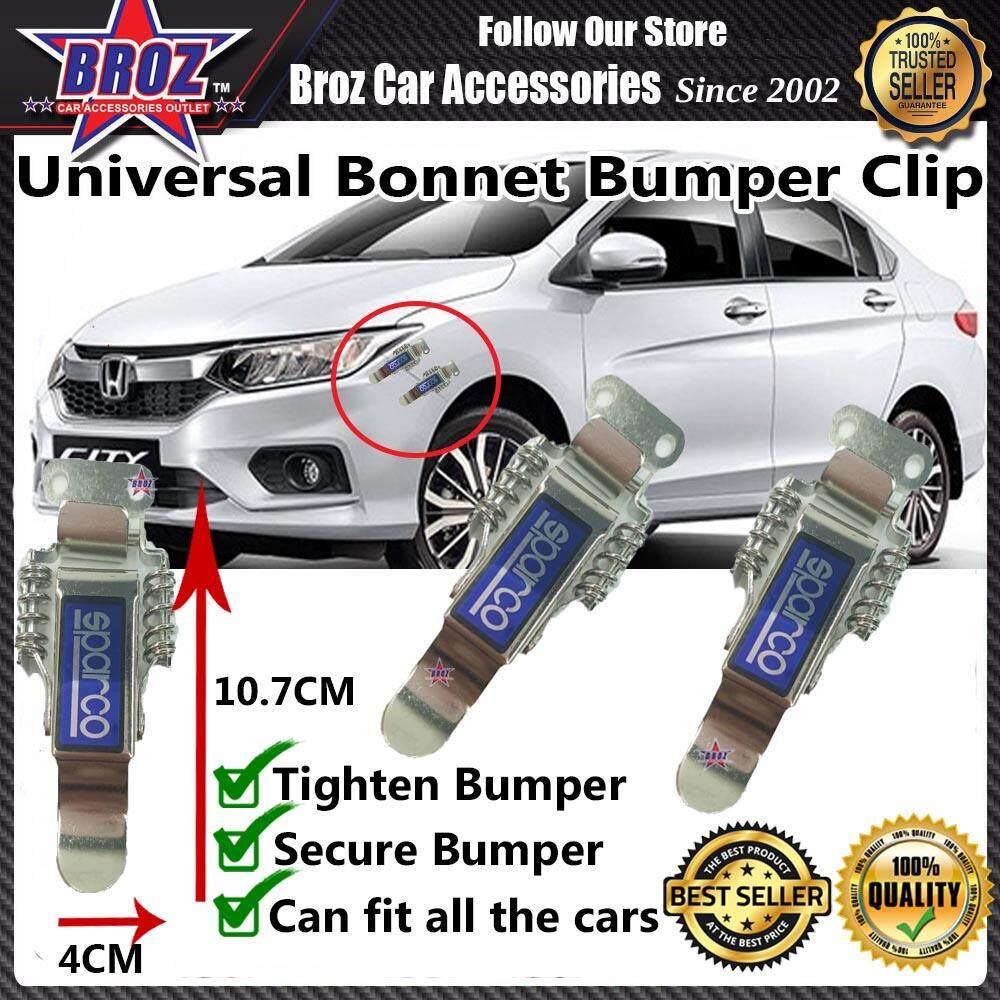 Universal Car Bonnet Bumper Clip BIG - SPARCO