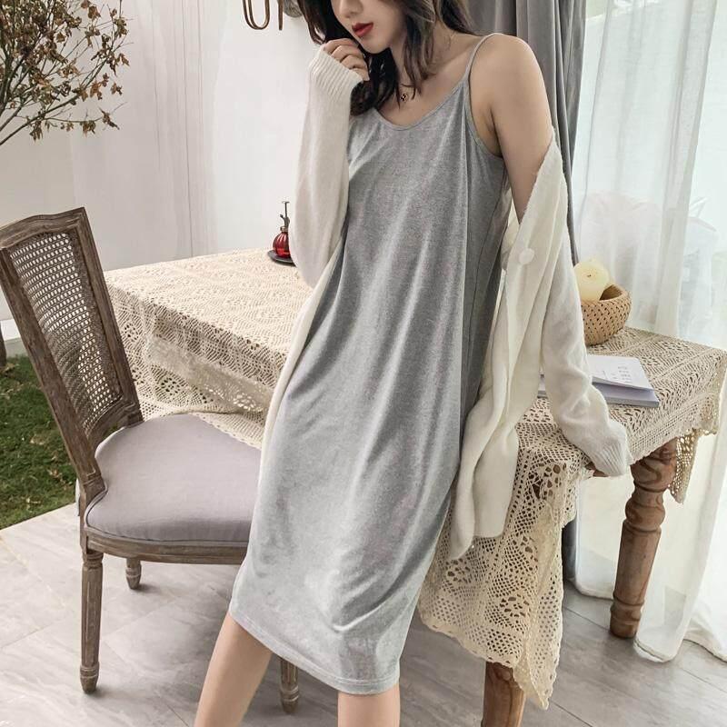 【LIMITED & READY 4 YOU】New Fashionista Women Casual Premium Silk Quality Dress (Black/Yellow/Red/Grey - Size: M-XXL) Dress Only