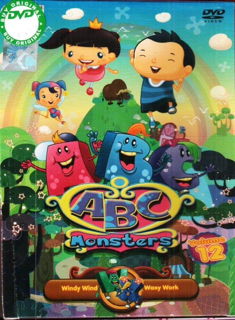 ABC Monsters Vol.12 Anime DVD