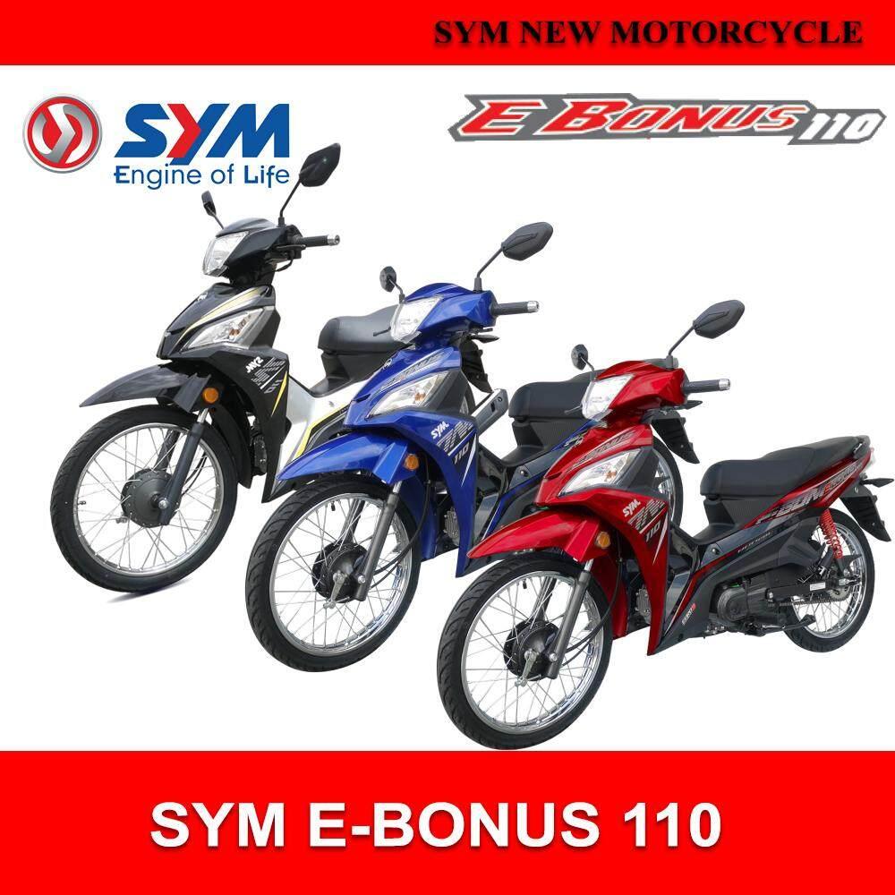 SYM E-Bonus 110 EURO 3 Motorcycle