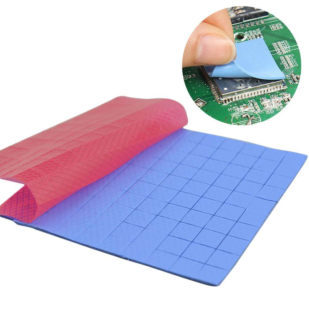 Canmove 100Pcs 10x10x1mm Thermal Pad GPU Heatsink Cooling Conductive  Silicone Cushion
