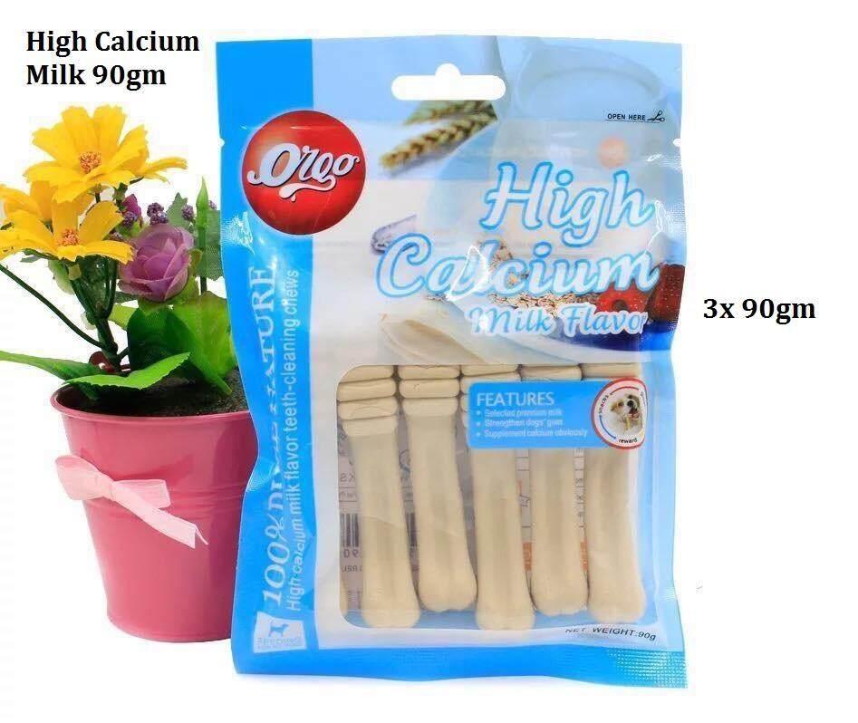 (Buy 3x)Orgo 100% Pure Nature High Calcium 90gm - Milk