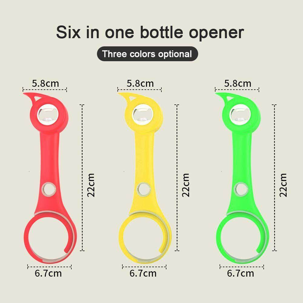 66a8be68397e SeaLavender 6-in-1 Multi-Function Can Opener Bottle Jar Opener Lid Twist  Off Gripper Claw