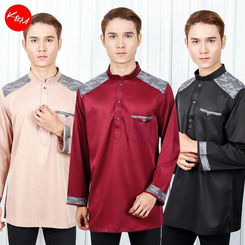 KM Men Rev Up Shoulder Traditional Kurta [M20610]