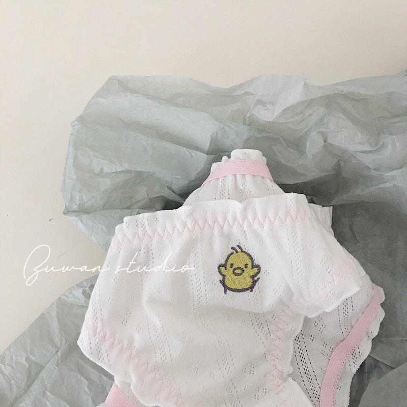 Không Cuối Phòng Thu Nhật Bản Thêu Anh Đào Quần Lót Nữ Cotton Cô Gái Tươi Hàn Quốc Dễ Thương Quần Lót Sinh Viên