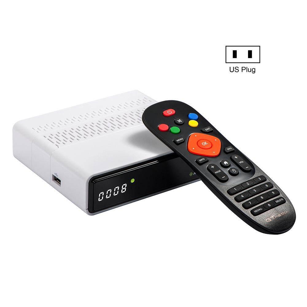 ระยอง Kitsmall GTmedia GTS เครื่องรับสัญญาณดาวเทียมสำหรับ DVB-S2Android 6.0 กล่องทีวี + DVB-S/S2 Android 6.0 กล่องทีวี 2 GB RAM 8 GB ROM BT4.0 GTMEDIA GTS
