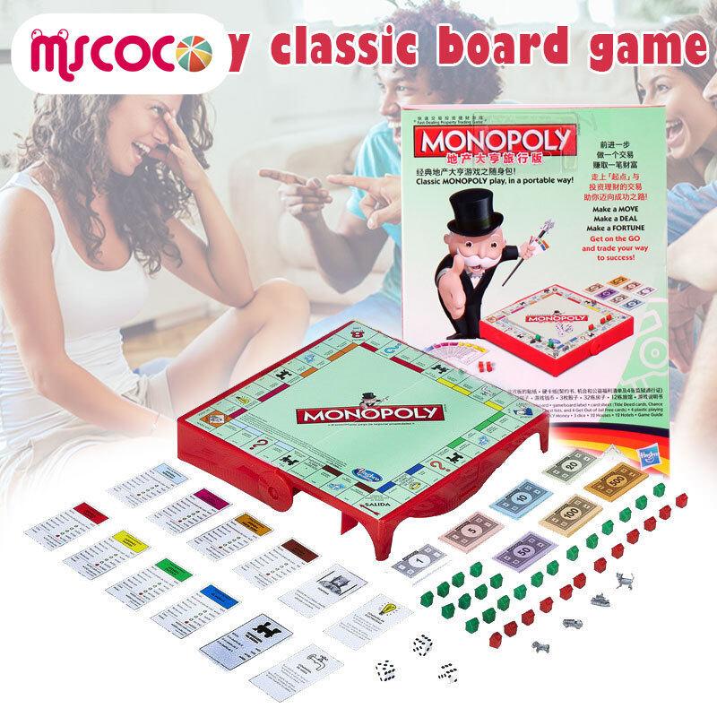 MSCOCO Monopoly GrabและGoชุดเกมกระดานTravel Editionโทรศัพท์มือถือรุ่น