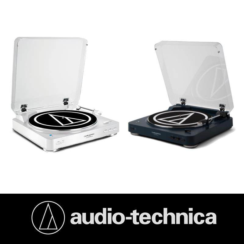 Audio Technica AT-LP60-BT Vinyl Record Player Fully Automatic Bluetooth Wireless Belt-Drive Stereo Turntable (AT-LP60WH-BT)