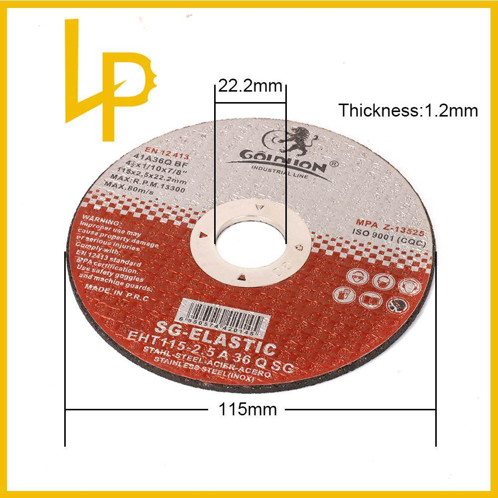 115mm Resin Cutting Disc Grinding Metal Wheel Cut Off Blade for Angle Grinder