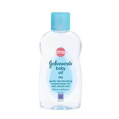 Johnson's Baby Lite Oil 125ml