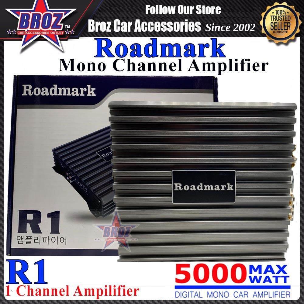 Roadmark R1 1 Channel High Performance Digital Mono Car Amplifier 5000 Max Watt