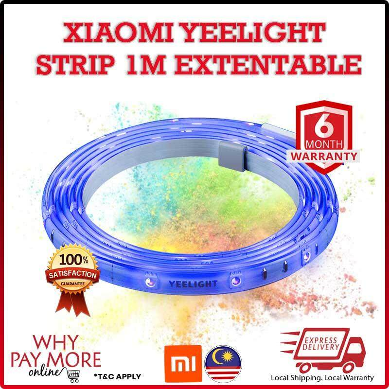 [Ready Stock]Xiaomi Yeelight Mi Light LED Strip Extended Cable 1M RGB YLOT01YL