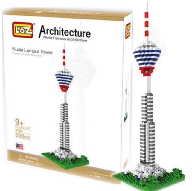 Architecture Building Series Kuala Lumpur Tower Menara Kuala Lumpur KL Tower Loz Nano Diamond Block