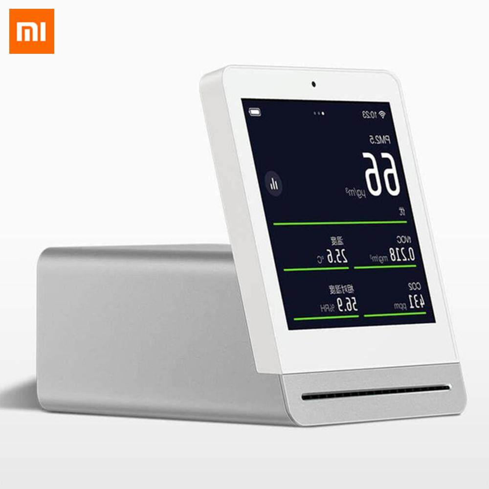 ยี่ห้อไหนดี  อ่างทอง Xiaomi Mijia ClearGrass Air monitor Retina Touch IPS Screen Mobile Touch Operation Indoor Outdoor Clear Grass Air Detector