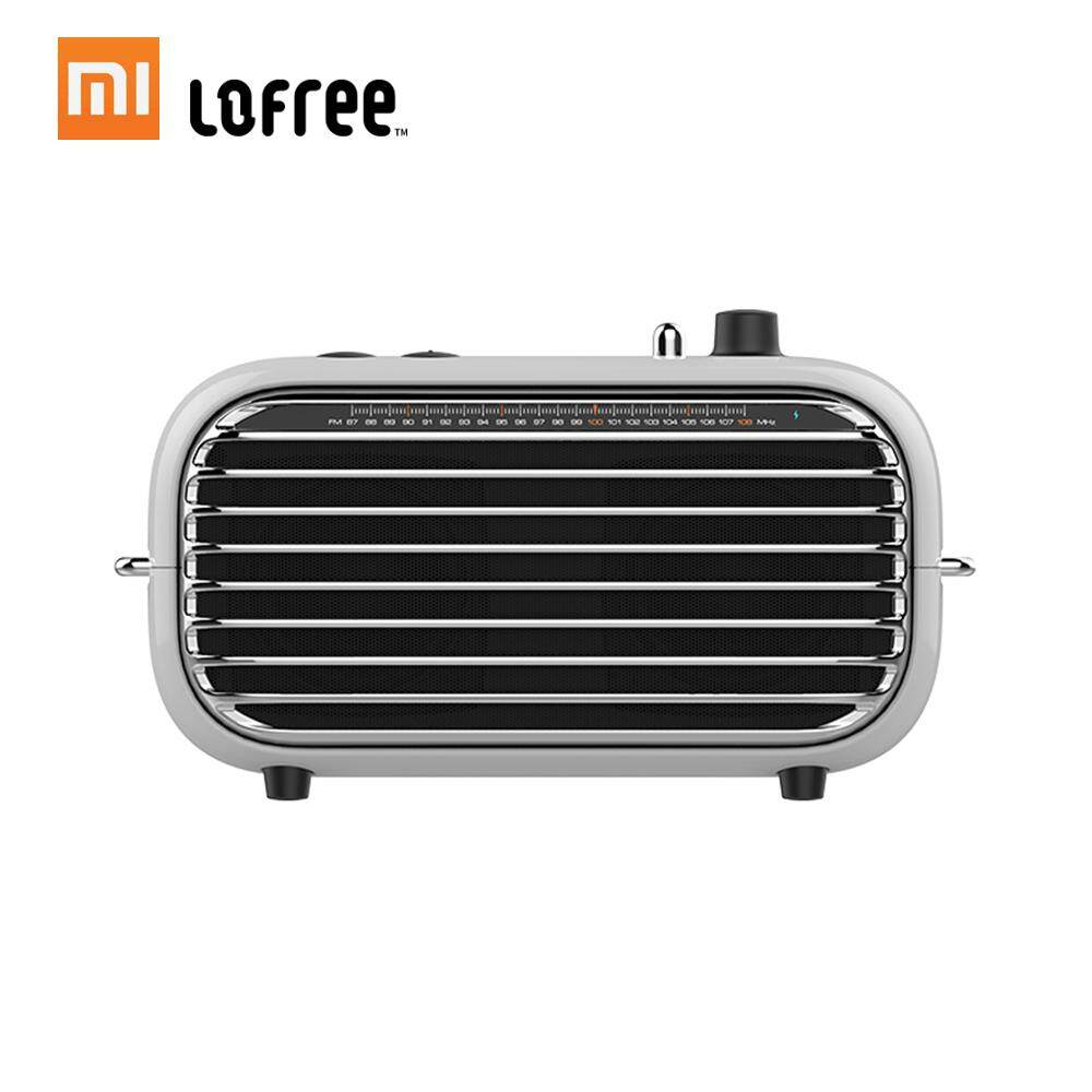 ยี่ห้อไหนดี  Xiaomi Mijia Lofree ลำโพงบลูทูธ Retro Retro คุณภาพสูงแบบพกพา Wireless Soundbox ลำโพงเบสเครื่องเล่นเสียงเครื่องขยายเสียงเพลงแบบชาร์จไฟได้ MINI MP3 ผู้เล่น