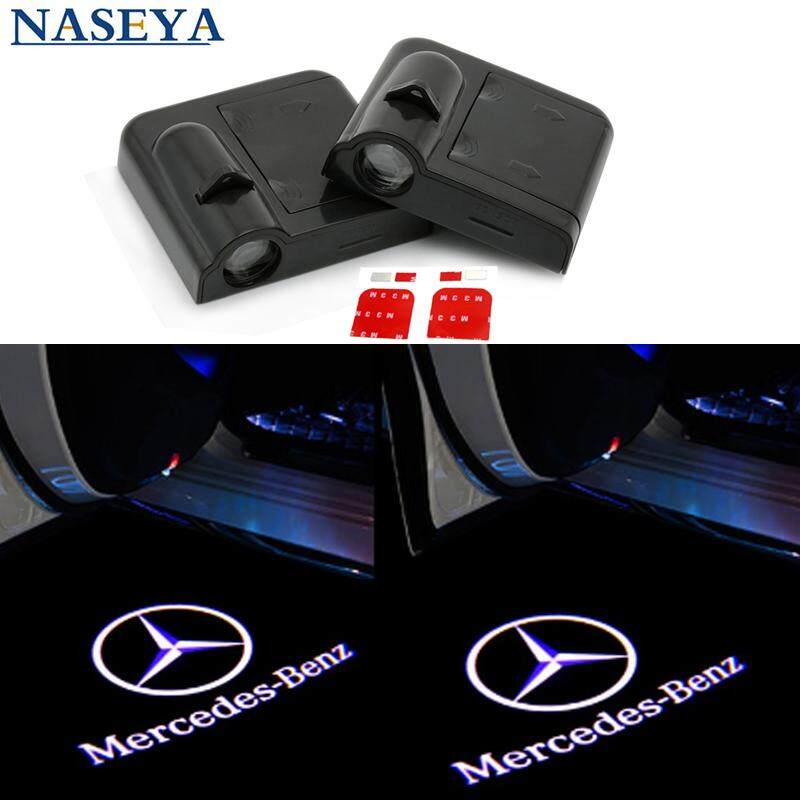 N//A 2X Wireless Car Door Logo Light Proyector l/áser Ghost Shadow Welcome Light Universal para VW
