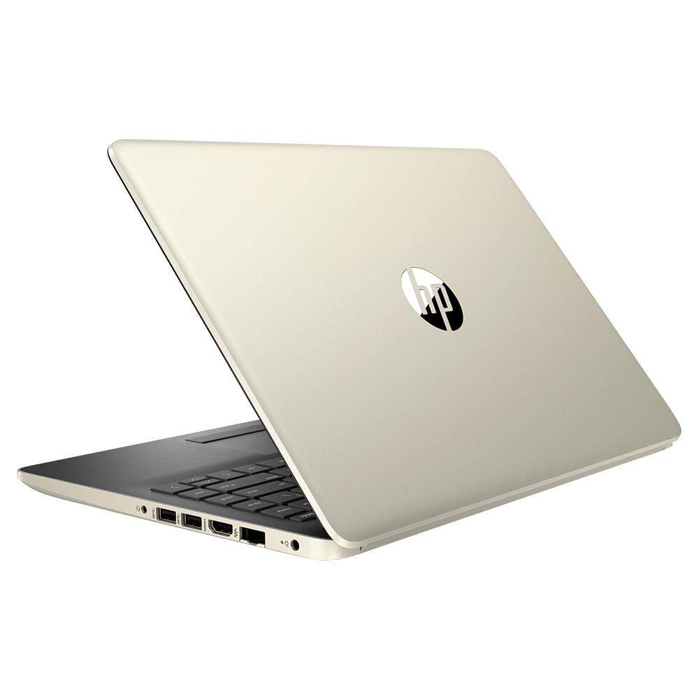 HP 14s-cf1061TX 7EW52PA Notebook Pale Gold / i7-8565U/4GB/1TB+128GB/Radeon 530 2GB/14InchHD/Win 10 + Free Wireless Mouse + Mouse Pad + Mobiles Gadget Set + Mystery Gift
