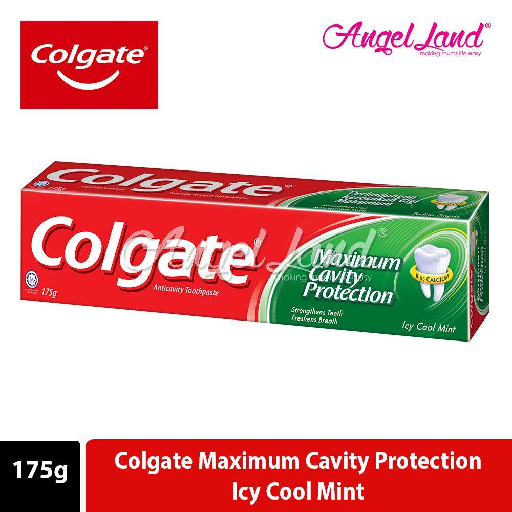 Colgate Maximum Cavity Protection Icy Cool Mint Toothpaste 175g