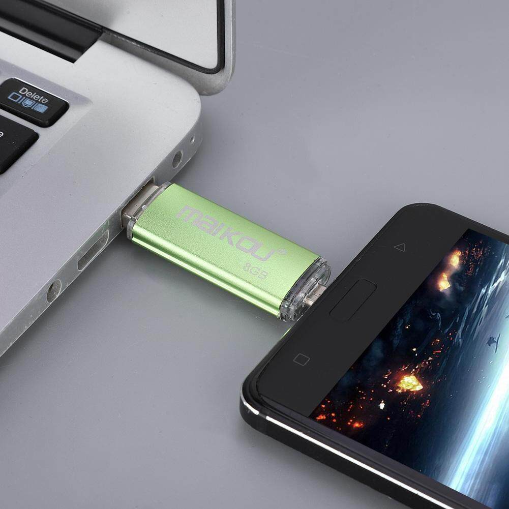 Storage & Hard Drives - USB Stick 2 Flash U Dual-use 0 OTG Memory Green Drive High Speed Disk Portable - [8G / 16G / 32G / 64G / 128G]