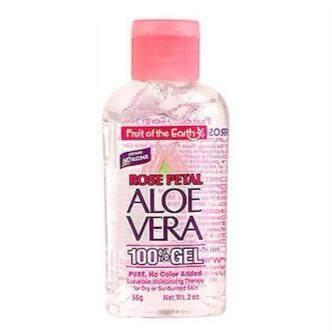FRUIT OF THE EARTH ALOE VERA 100% GEL ROSE PETAL 56G