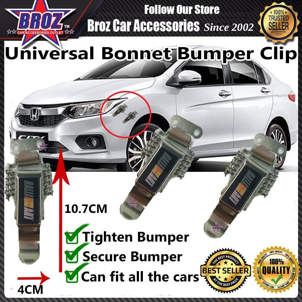 Universal Car Bonnet Bumper Clip BIG - RALLIART