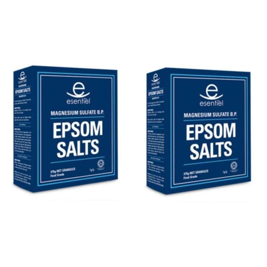 ESENTIEL EPSOM SALTS 375G X 2BOXES