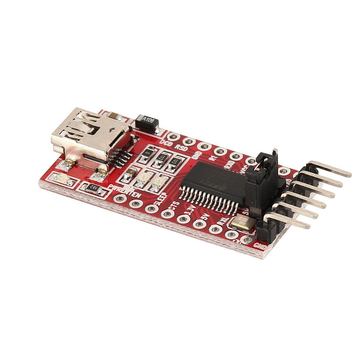 Mô-đun bộ chuyển đổi nối tiếp FT232RL FTDI USB sang TTL cho cổng Mini Arduino FT232
