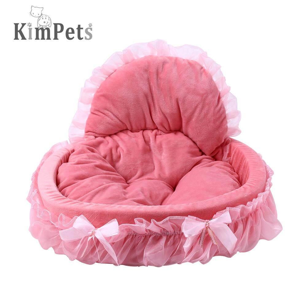 KIMPETS STYLISH WASHABLE LACE PET DOG CAT BED HOUSE