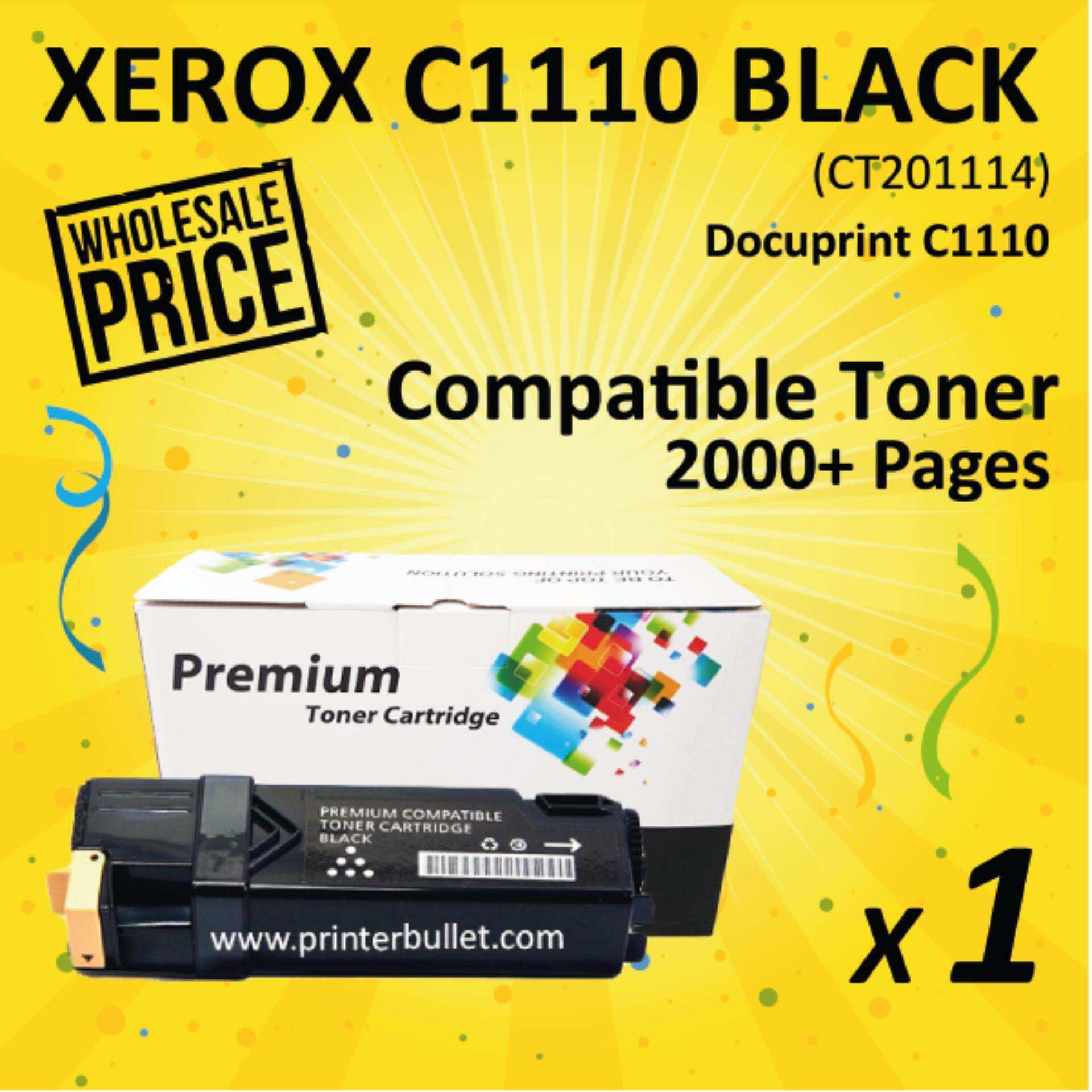 Fuji Xerox Docuprint C1110 / C1110B Black Compatible Colour Laser Toner Cartridge