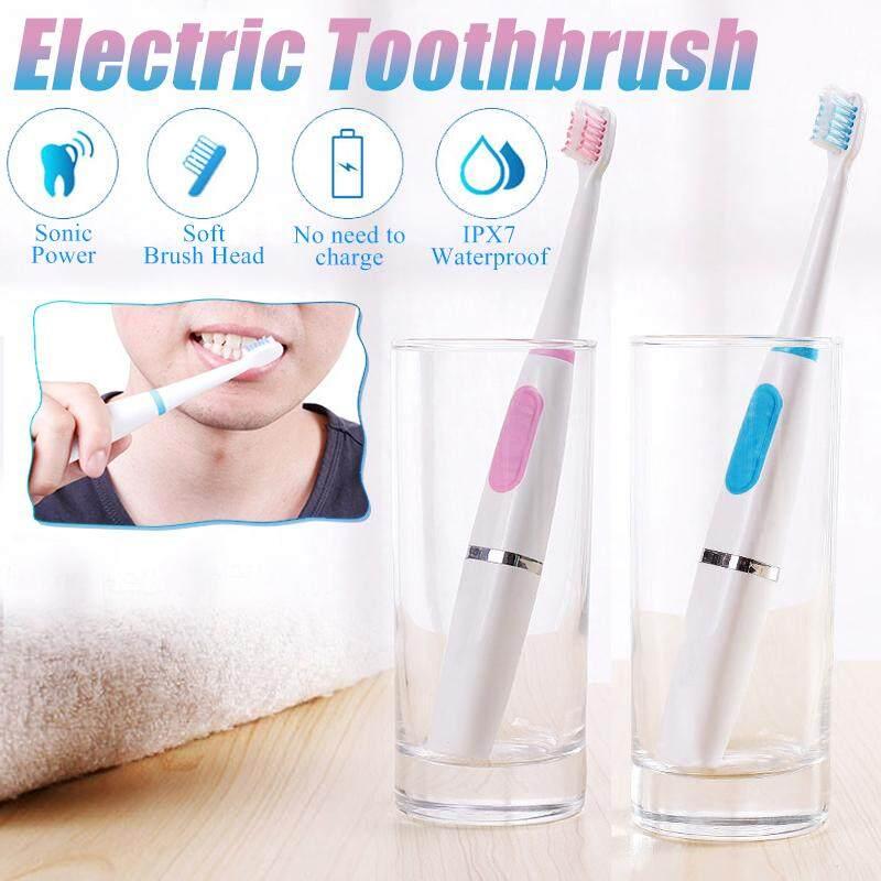 แปรงสีฟันไฟฟ้า ช่วยดูแลสุขภาพช่องปาก สุราษฎร์ธานี 【การจัดส่ง   ข้อเสนอฉับพลัน】Oral Care แปรงสีฟันไฟฟ้าทำความสะอาดฟัน Fit หัวแปรงกันน้ำ
