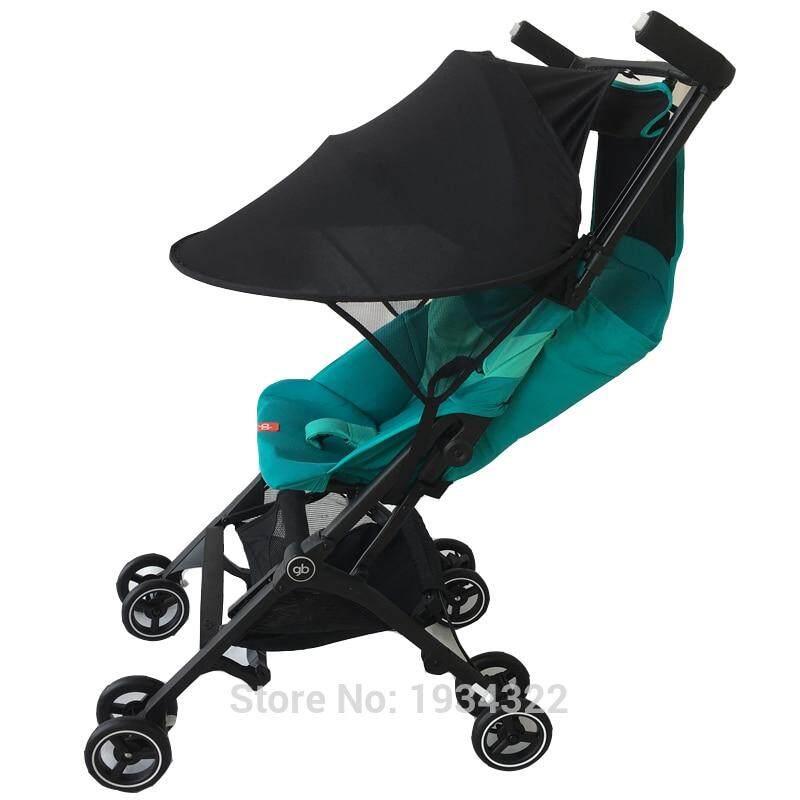 17a6d6deb 1:1 GB stroller Accessories sun shade for goodbaby pockit stroller extend  sun visor Canopy Cover UV umbrella fit pockit+ QBIT+