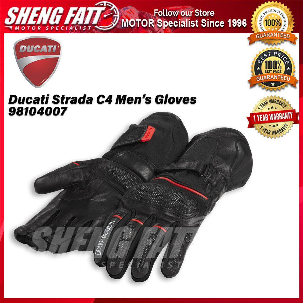 Ducati Strada C4 Men's Gloves 98104007 - [ORIGINAL]