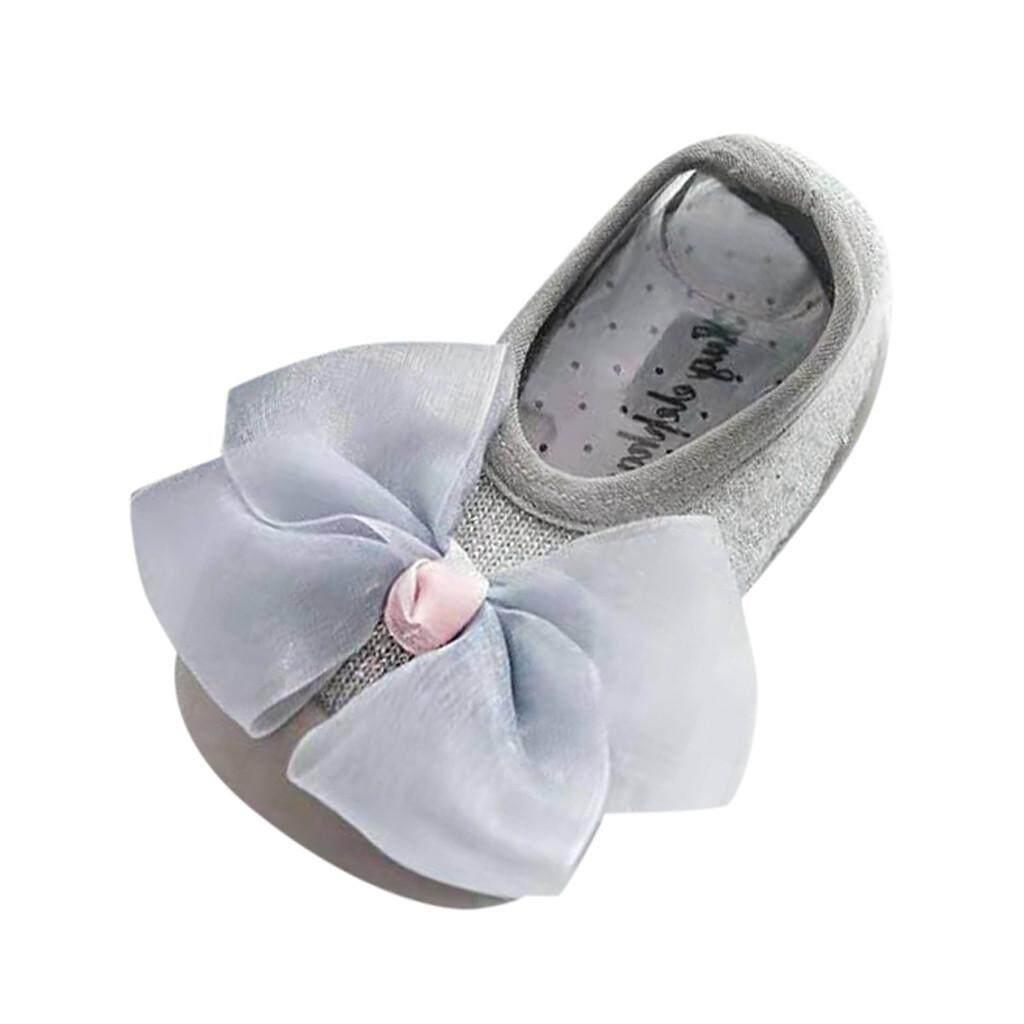 Bayi Perempuan Baru Lahir Anak Sol Lembut Pita Sepatu Karet Kaus Kaki Sandal Stocking - 2 ...