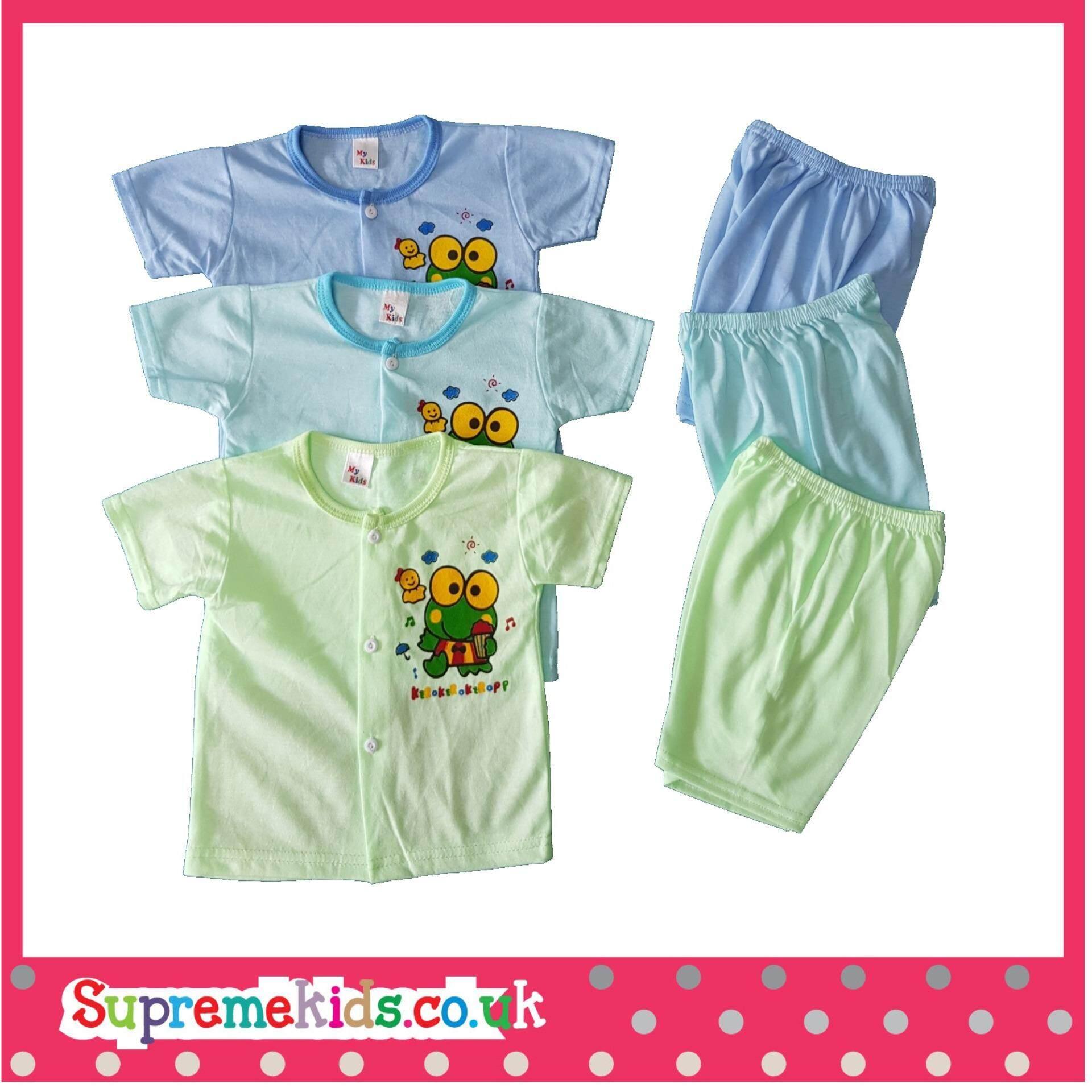 6PCS Baby Clothes 6-12M cartoon newborn clothing set cotton new born